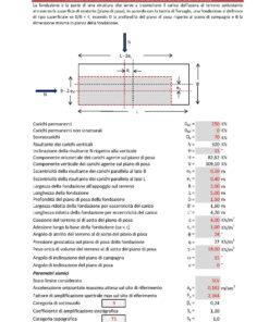 Calcolo capacità portante fondazioni superficiali - NTC 2018 (vers. 3.0) - parametri sismici .xls