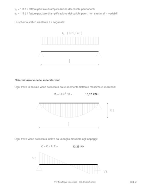 Calcolo solaio ferro (NTC 2018) | determinazione delle sollecitazioni - excel
