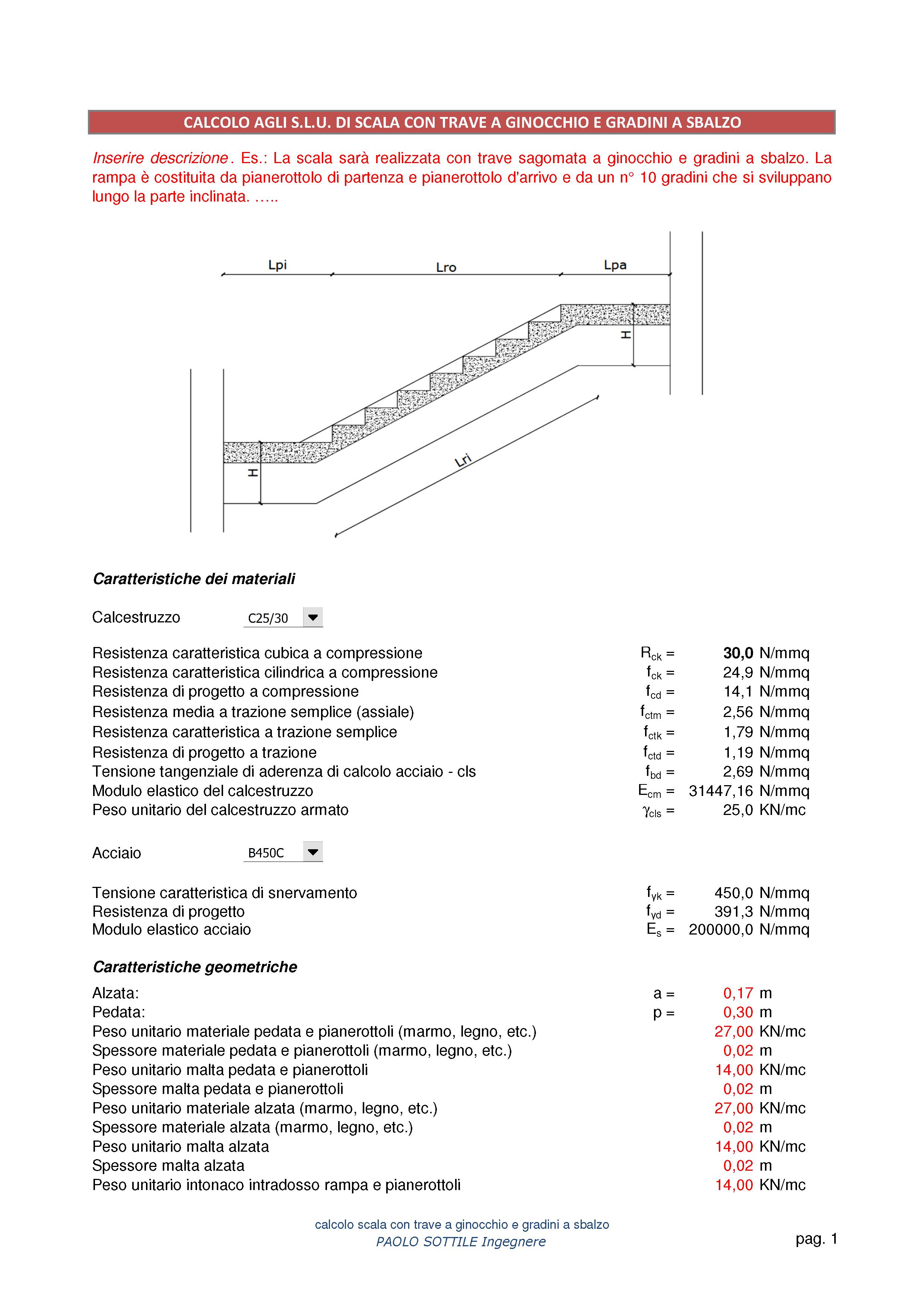 Calcolo trave cemento armato excel con le precedenti ntc e con leurocodice questa verifica di - Apertura vano in muratura portante ...