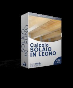 calcolo solaio in legno NTC 2018 - excel